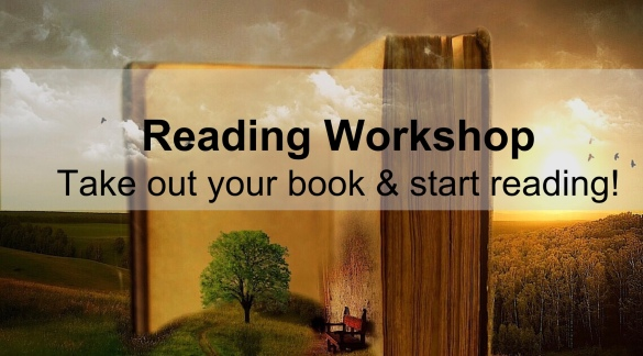 Open book and reading workshop text