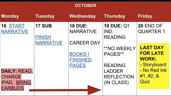 Week 9 Assignments