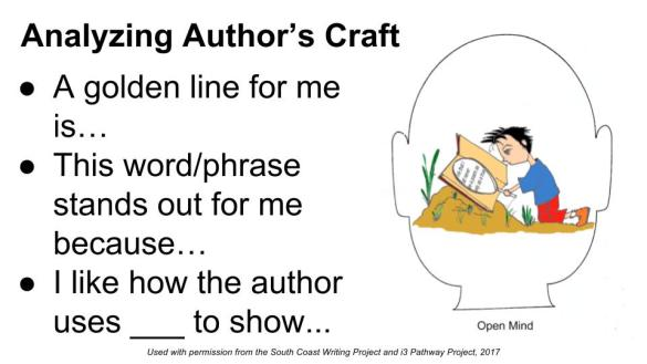 Analyzing Author's Craft_Sentence Stems